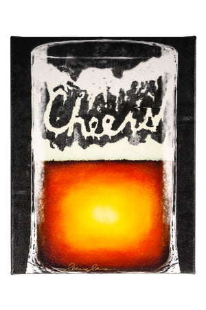 Cheers! Beer themed giclee print