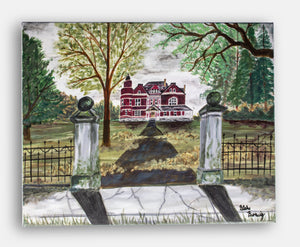 Original canvas of T.B. Ripy House, Lawrenceburg KY