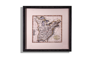 Historic maps of KY No 2 1784 map print, framed