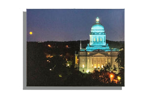 Photo canvas of Frankfort Capitol building