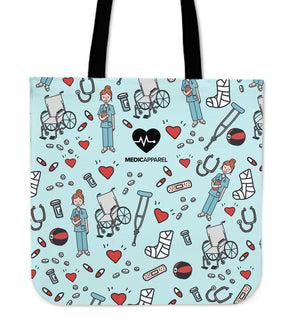 Premium Sketch Physio Women's Tote Bag