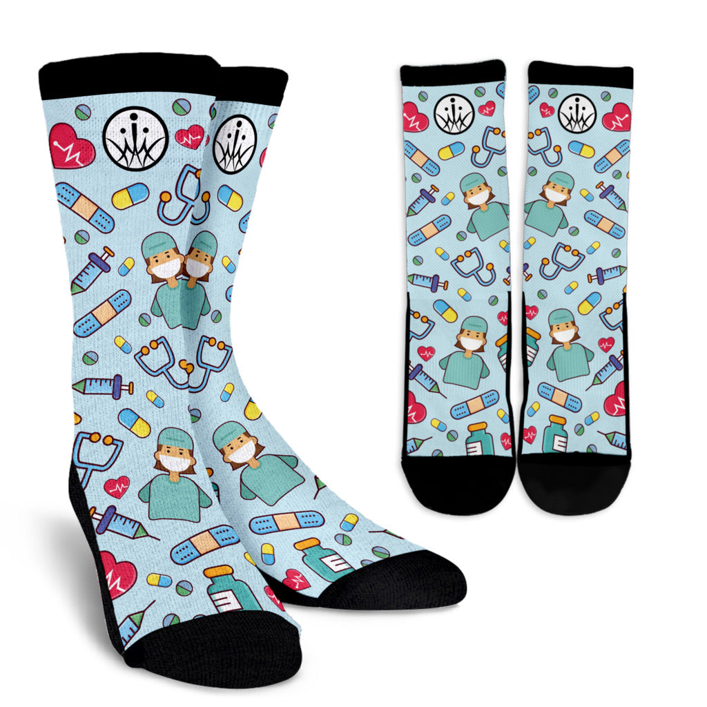 Special Edition Medical Mums Life Saver Socks