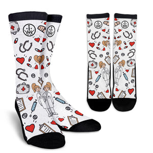 Special Edition Medical Mums Sketch Medical Socks - 3 Colours