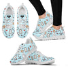 Sketch Medical Blue Nurse/Doctor Women's Sneakers