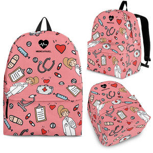 Premium Sketch Medical Women's Backpack