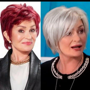 Sharon Osbourne Goes Back To Red