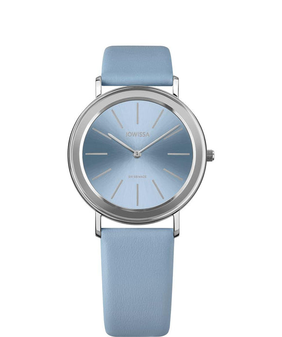 Alto Swiss Ladies Light Blue Watch with Silver J4.389.L from Jowissa Watches at Moosestrum.com