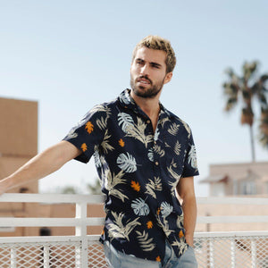 Parker Floral Shirt, from PX at Moosestrum.com