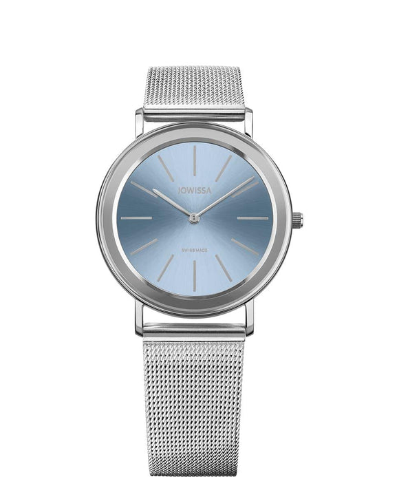 Alto Swiss Ladies Light Blue Watch with Silver J4.396.L from Jowissa Watches at Moosestrum.com
