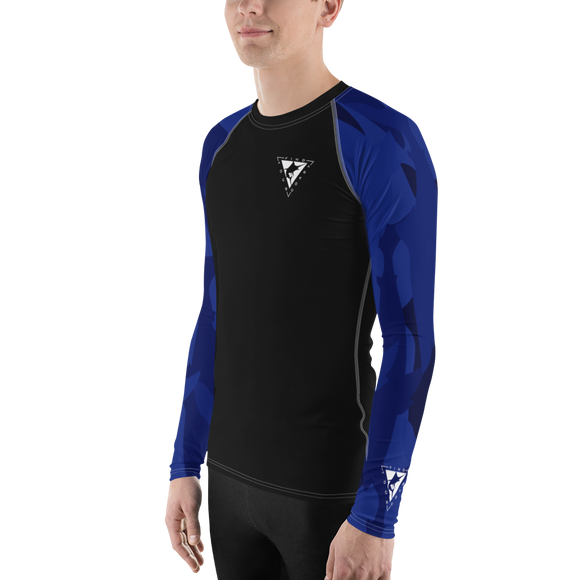 Find Your Coast Blue Sleeve Rash Guard UPF 40, from Find Your Coast Apparel at Moosestrum.com