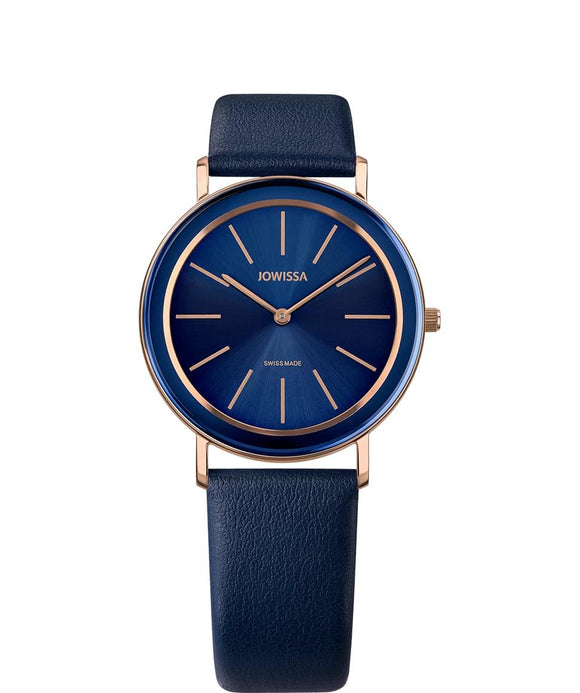 Alto Swiss Ladies Blue Watch with Rose Gold J4.386.L from Jowissa Watches at Moosestrum.com