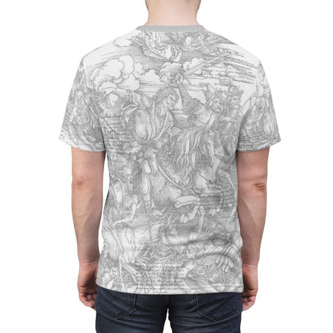Four Horsemen of the Apocalypse All Over Print Tee, from Moosestrum USA at Moosestrum.com