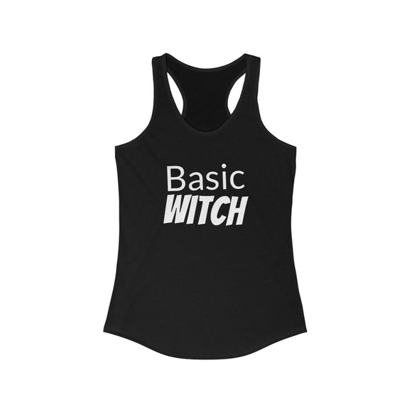 Basic Witch Women's Racerback, from Moosestrum USA at Moosestrum.com