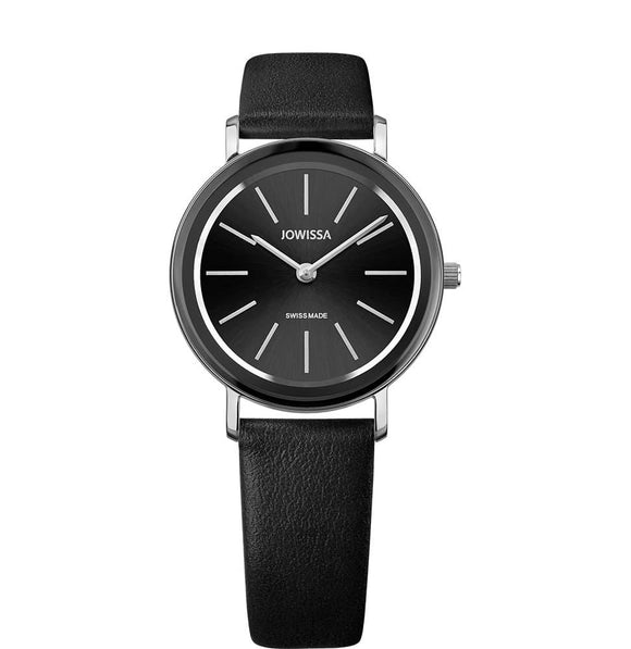Alto Swiss Ladies Black Watch with Silver J4.383.M from Jowissa Watches at Moosestrum.com