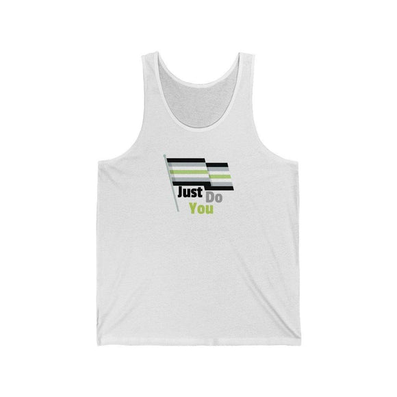 Just Do You Agender Pride Jersey Tank