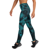 Active Comfort Crossover Night Camo Full Length Sport Leggings, from Find Your Coast Apparel at Moosestrum.com