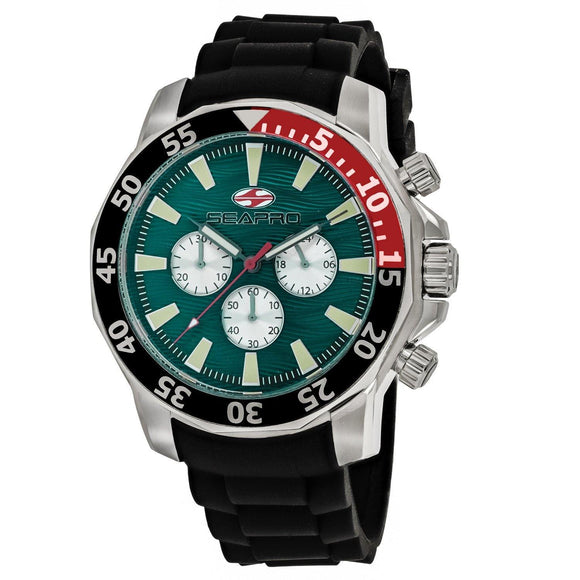 Men's Scuba Explorer in Green from Seapro Watches at Moosestrum.com