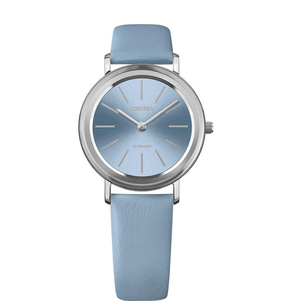 Alto Swiss Ladies Light Blue Watch with Silver J4.389.M from Jowissa Watches at Moosestrum.com