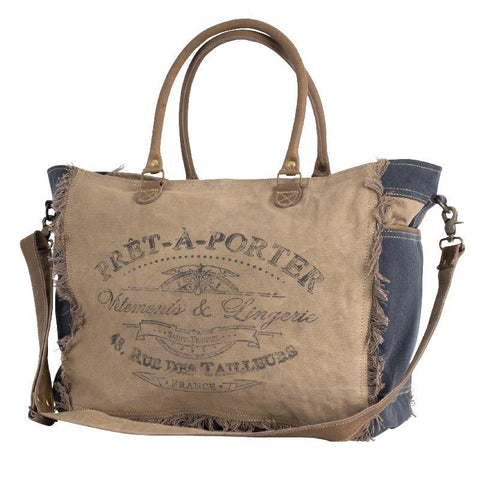 Prêt-à-Porter Tote, from The Brooklyn Bag Company at Moosestrum.com