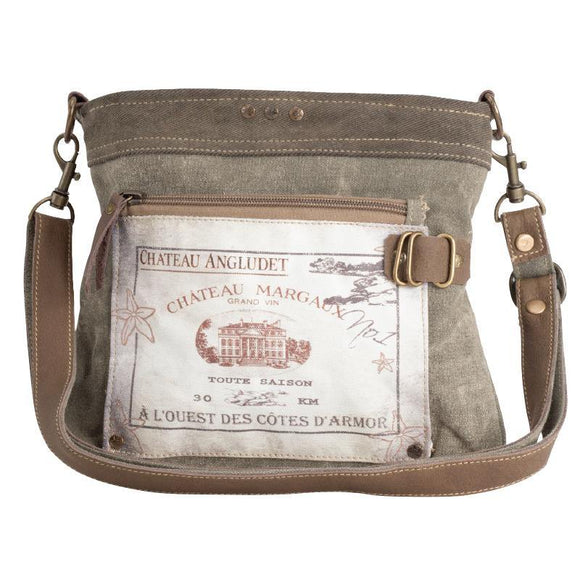Chateau Margaux Shoulder Bag from The Brooklyn Bag Company at Moosestrum.com