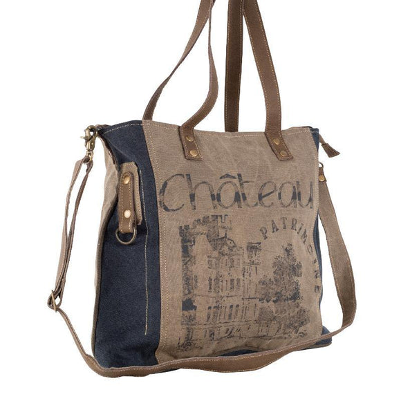 Château Shoulder Tote, from The Brooklyn Bag Company at Moosestrum.com