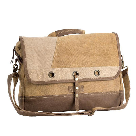 Laptop Messenger Bag from The Brooklyn Bag Company at Moosestrum.com