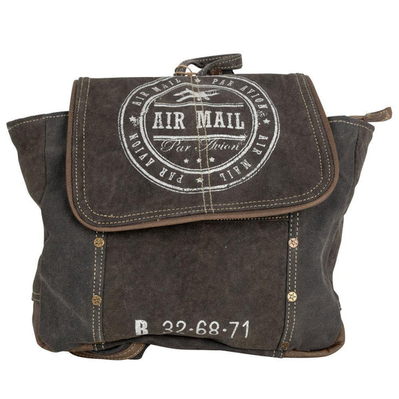 AIR MAIL BACKPACK from The Brooklyn Bag Company at Moosestrum.com