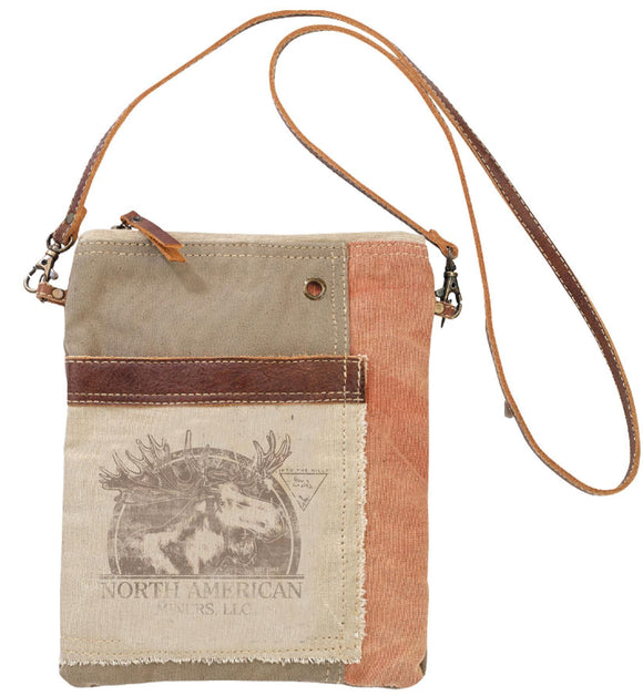 North American Moose Passport Bag from The Brooklyn Bag Company at Moosestrum.com