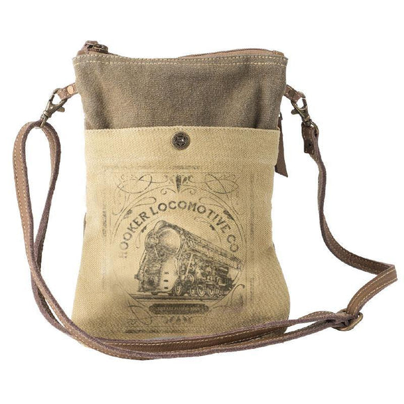 Hooker Locomotive Passport Bag from The Brooklyn Bag Company at Moosestrum.com