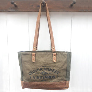 Oriver Winery Tote, from The Brooklyn Bag Company at Moosestrum.com