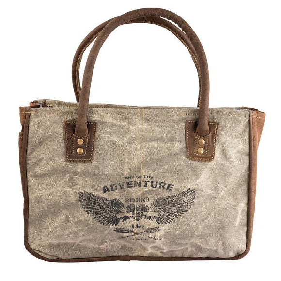 Adventure Tote from The Brooklyn Bag Company at Moosestrum.com
