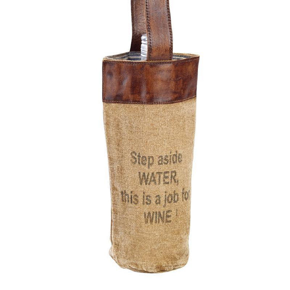 Step Aside Wine Bag, from The Brooklyn Bag Company at Moosestrum.com