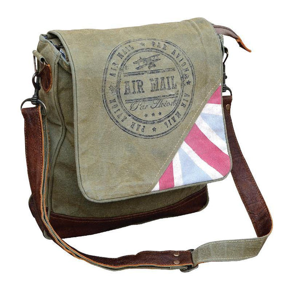 Union Jack Courier Bag