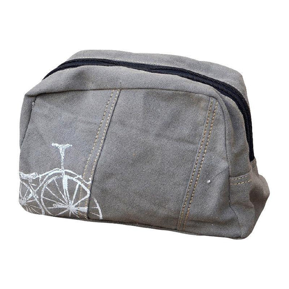 Bicycle Shaving Kit Bag from The Brooklyn Bag Company at Moosestrum.com