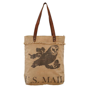 US Mail Tote, from The Brooklyn Bag Company at Moosestrum.com