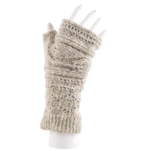 Australian Merino Wool Fingerless Gloves
