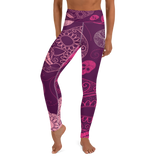 Active Comfort Crossover Skull Candy Full Length Sport Leggings, from Find Your Coast Apparel at Moosestrum.com