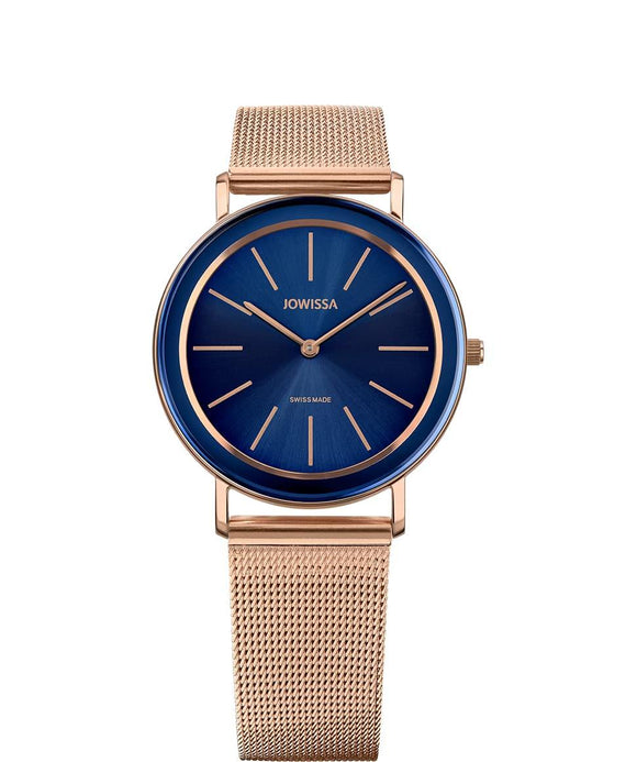 Alto Swiss Ladies Blue Watch with Rose Gold J4.398.L from Jowissa Watches at Moosestrum.com
