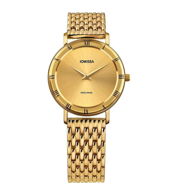 Roma Swiss Ladies Gold Watch J2.287.M from Jowissa Watches at Moosestrum.com