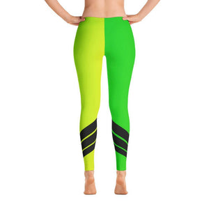All Day Comfort Neon Venture Pro Stripe Leggings, from Find Your Coast Apparel at Moosestrum.com