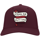 Ocean Air, Salty Hair Baseball Hat, from CustomCat at Moosestrum.com