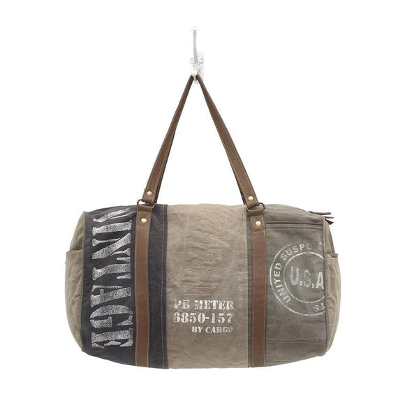 Vintage USA Canvas Weekender Bag