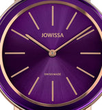 Alto Swiss Ladies Purple Watch with Rose Gold J4.397.L from Jowissa Watches at Moosestrum.com