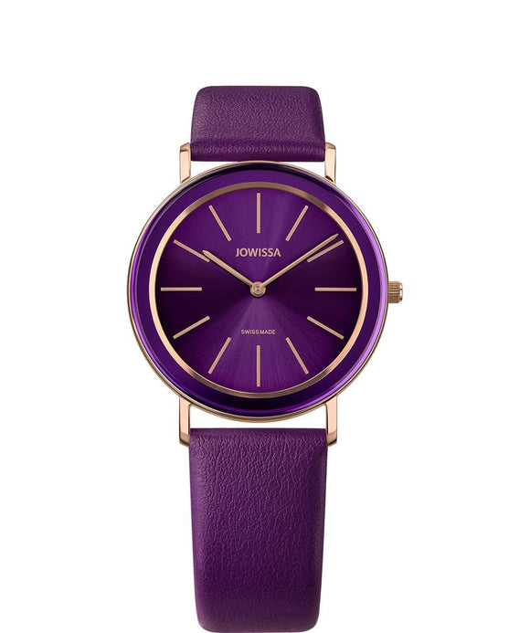 Alto Swiss Ladies Purple Watch with Rose Gold J4.385.L from Jowissa Watches at Moosestrum.com