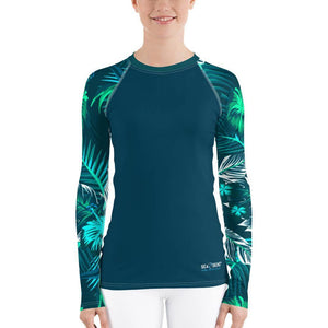 Veronica Sleeve Sea Skinz Performance Rash Guard UPF 40, from Find Your Coast Apparel at Moosestrum.com