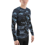 Men's Coast Camo Performance Rash Guard UPF 40, from Find Your Coast Apparel at Moosestrum.com
