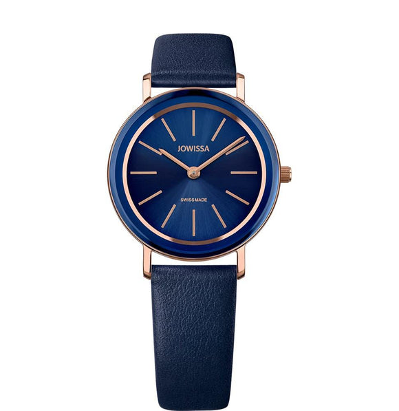 Alto Swiss Ladies Blue Watch with Rose Gold J4.386.M from Jowissa Watches at Moosestrum.com