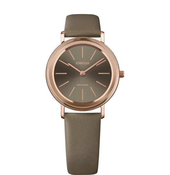Alto Swiss Ladies Khaki Watch with Rose Gold J4.390.M from Jowissa Watches at Moosestrum.com