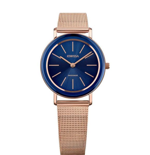 Alto Swiss Ladies Blue Watch with Rose Gold J4.398.M from Jowissa Watches at Moosestrum.com