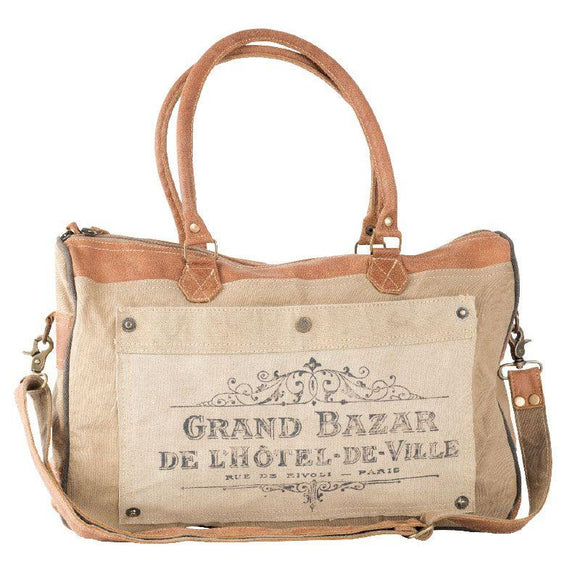 Grand Bazar Shoulder Tote from The Brooklyn Bag Company at Moosestrum.com